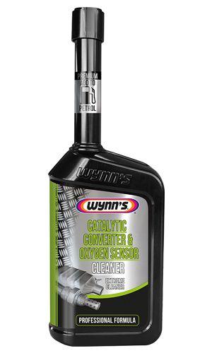 Присадка в бензин (очиститель катализатора) Wynn`s Catalytic Converter & Oxygen Sensor Cleaner