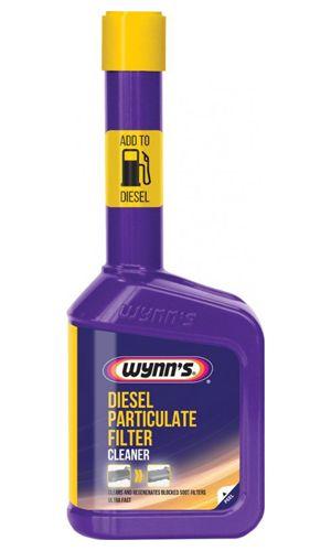 Присадка в дизтопливо (очиститель сажевого фильтра) Wynn`s Diesel Particulate Filter Cleaner