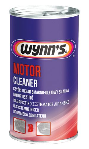 5-ти минутная промывка системы смазки двигателя Wynn`s Motor Cleaner
