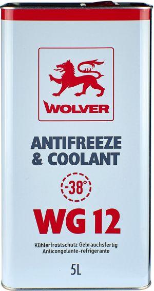 Wolver Antifreeze & Coolant WG12 (-40)
