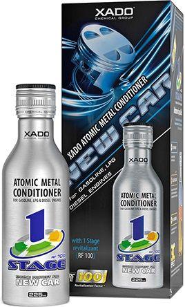 Атомарный кондиционер металла Xado New Car с ревитализантом 1 Stage
