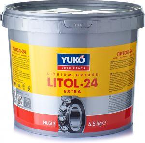 Многоцелевая смазка (литиевый загуститель) Yuko Литол-24
