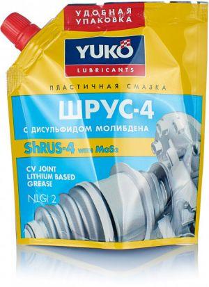 Многоцелевая смазка (литиевый загуститель и молибден) Yuko Шрус-4