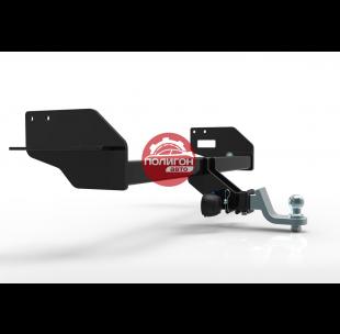 Hyundai Santa Fe 2015 - 2018 - (1 выхлопная труба)