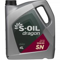 S-OIL Dragon SN 10W-40