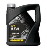 MANNOL 7711 O.E.M. for Daewoo GM 5W-40
