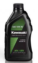 Kawasaki Performance 4-Stroke ATV/Utility Vehicle Engine Oil 10W-40
